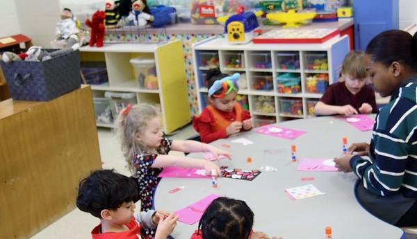Child Development Valentine's Day  AM Group 2-14-2019