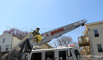 Structure Fire - 28 Rose Park Ave, Stamford, CT - 4/16/17