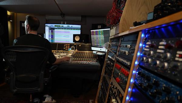 Tom Bish studio