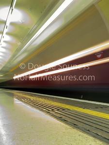 'Tube' 14 January 2011 Paddington, London, England