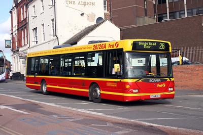 Bus Operators in Stoke on Trent & Crewe (Update 23.01.2019)