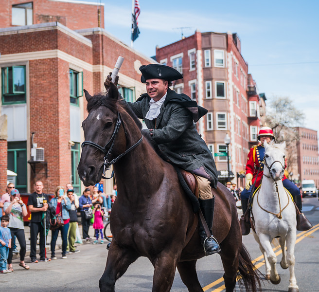 2017-04 Patriot's Day Parade and Paul Revere's Ride Reenactment