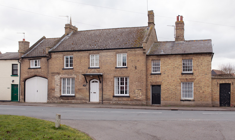 Walton House (Feb 2014). Later to become the Bell Inn. Photograph by Mark Heath