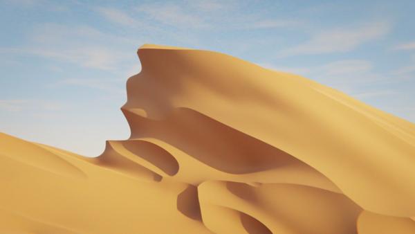 Dunes Shader