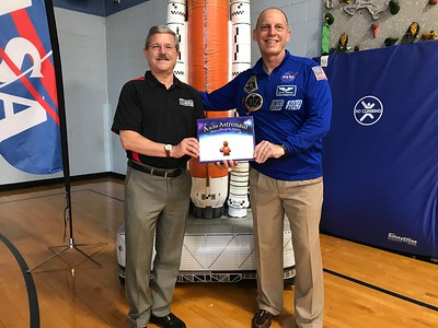 Read to Be Ready with Astronaut Clayton Anderson 2018