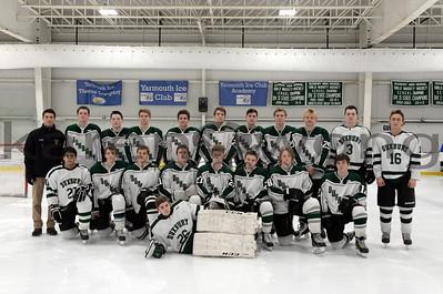 Boys JV Hockey Scrimmage 12-16-15