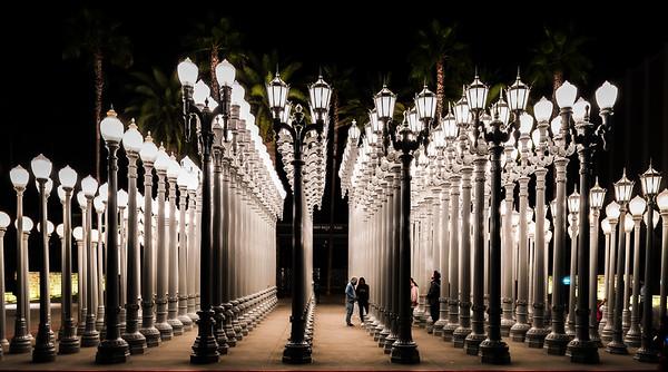 """LACMA """"Urban Light"""""""