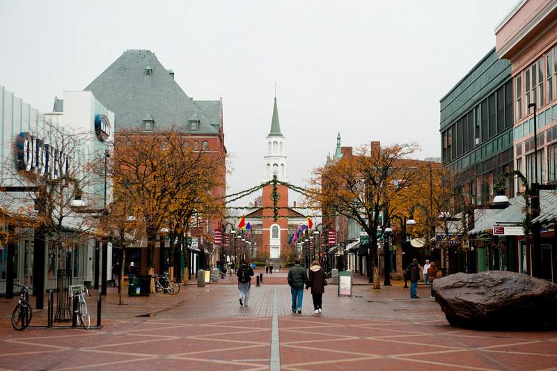 Church St. - Burlington, Vermont