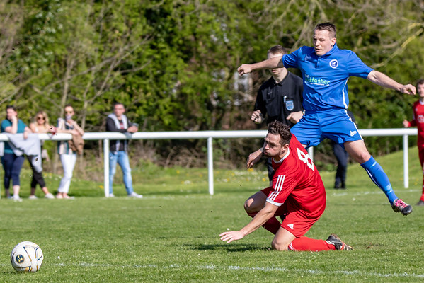 Lostock Gralam v Moore United - JA Walton cup semi final