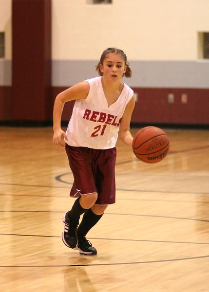 SNMS Girls Basketball vs TC 2007
