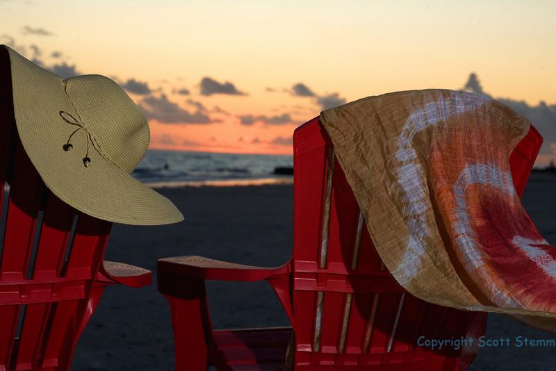 Sunset with charm Madeira Beach
