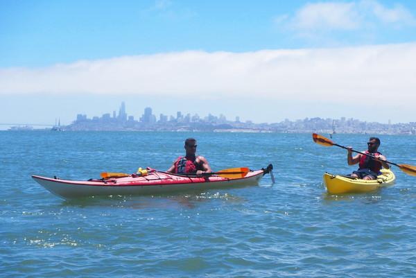 Sausalito Kayaking: Jul 15, 2018