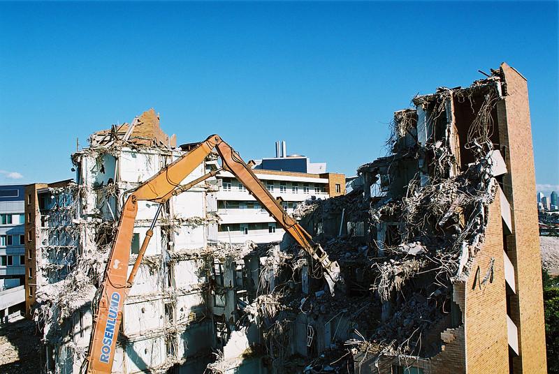 PA Hospital Demolition
