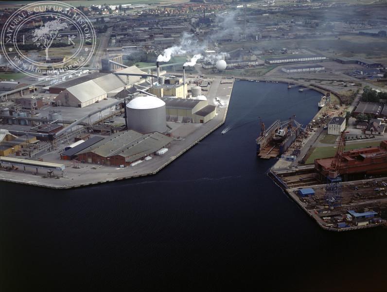 Landskrona fertilizer industry – Supra (1990) | PH.0314