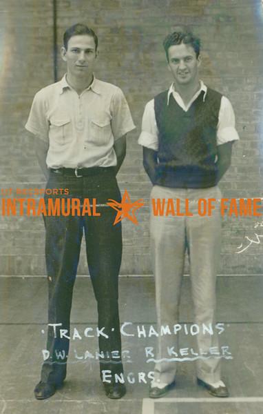 TRACK Champions  Engineers  D. W. Lanier & R. Keller