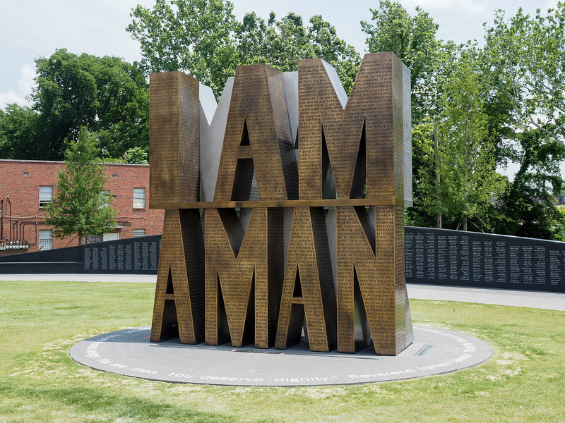 I Am A Man art in Memphis