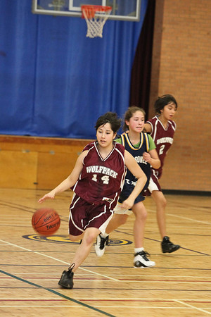 Basketball Moosonee Public v. Delores D. Echum 2009 January 23rd