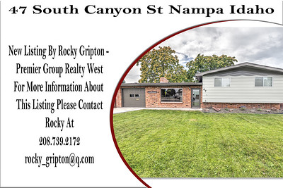 47 South Canyon St Nampa Idaho - Rocky Gripton