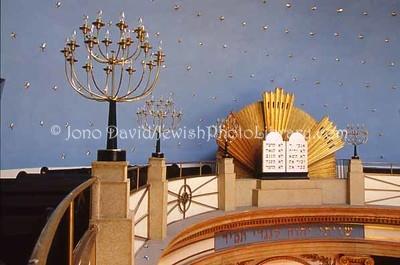AUSTRIA, Vienna. Seitenstettengasse Synagogue (aka, The Stadttempel). (2006)