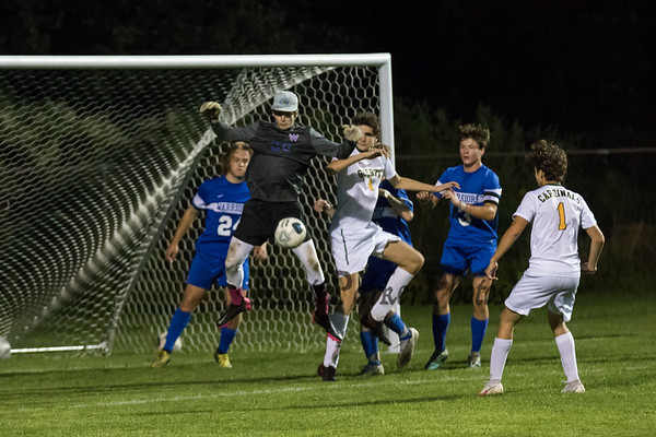 2021-9-7 WHS Boys Soccer vs Bishop Guertin