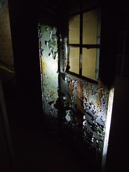 Spooky door is spooky