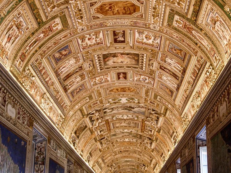 Vatican Museums - Ceiling Art