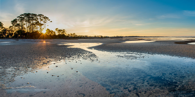 Port St. Joe Low Tide Sunrise
