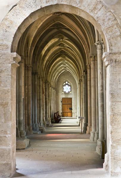 Kloster Schulpforta, Kirche. Blick durch südl. Seitenschiff