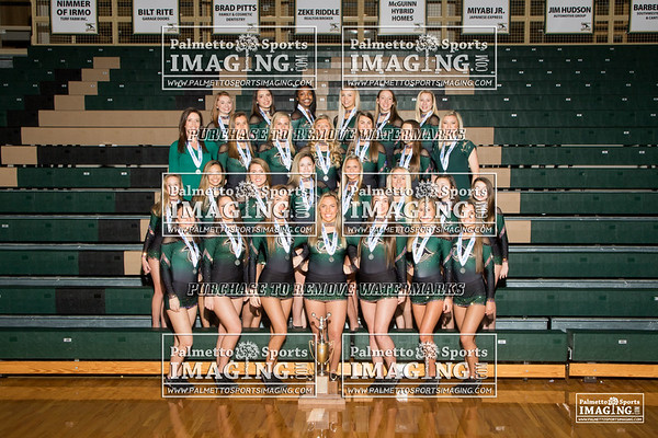 2018 River Bluff Competitive Cheer Team and Individuals