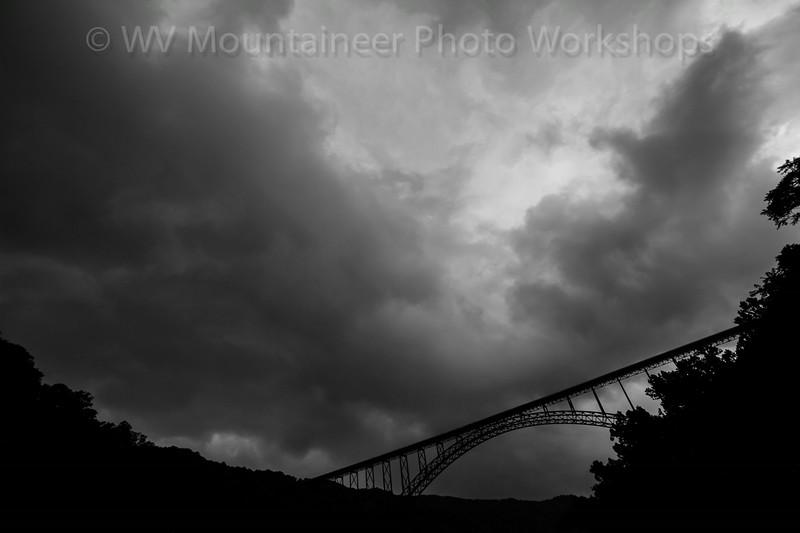Storm - New River Gorge Bridge - Fayetteville West Virginia