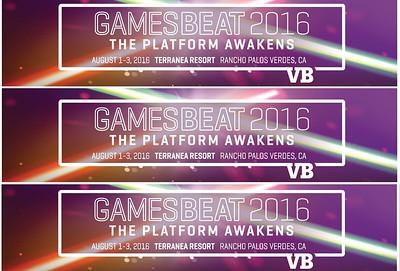 2016 VB GamesBeat 2016