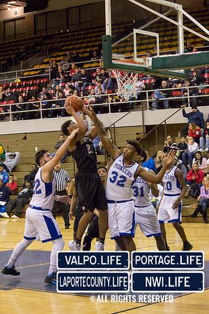 2016 High School Boys Basketball Sectionals Griffith Vs. Hammond Clark