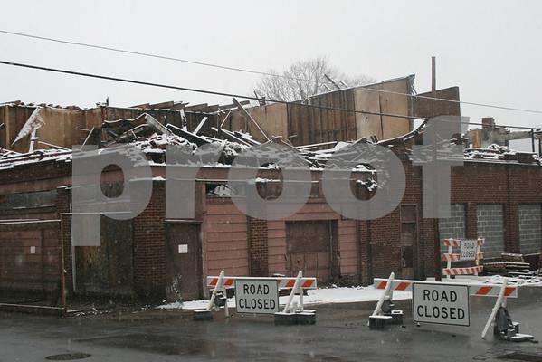 Range Chevrolet Building Demolition - January 2009
