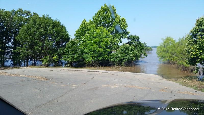 Lake Onapa Overflowing