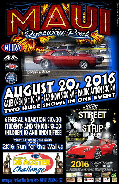Maui Drags ~ August, 2016