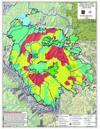Waldo Canyon Fire El Paso County, Colorado USA Final Containment, 2012