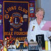 Lion Joyce Drabek shared highlights of our 80-year history