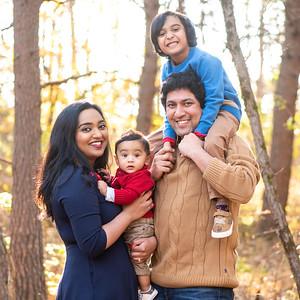 Sitara & Amith's Family Portraits