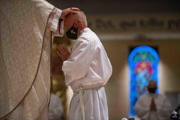 Permanent diaconate ordination, 2020