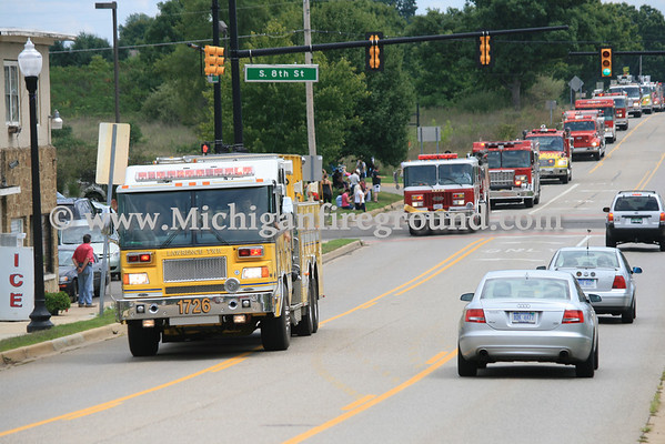 8/12/12 - Great Lakes Burn Camp escort