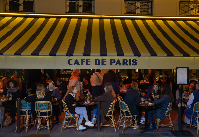 Café de Paris on Rue de Buci