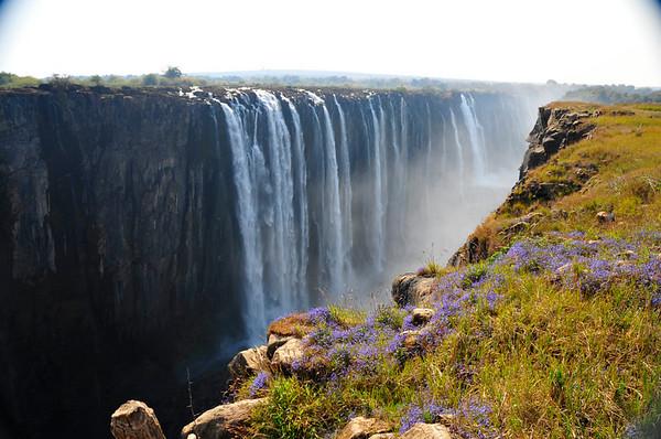 Victoria Falls, Zimbabwe -- August 2008