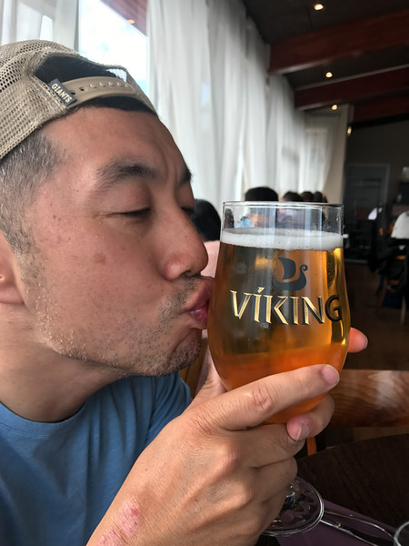 Kissing beer...why??