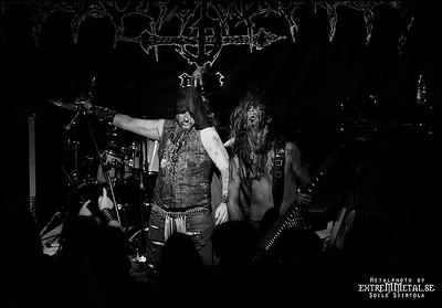 ONDSKAPT @ Metal Magic V - Fredericia, Denmark 14/7 2012