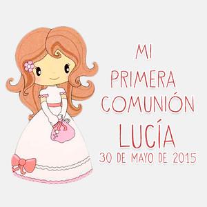 Primera Comunión Lucía