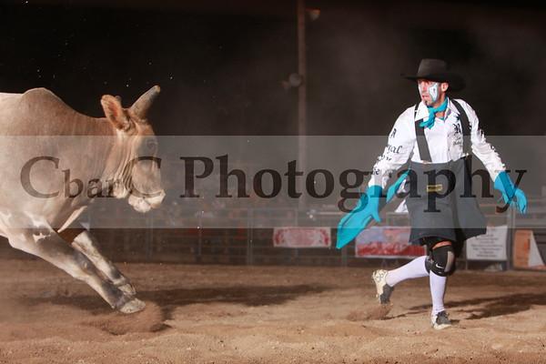 Clowns-Bullfighters-Flag
