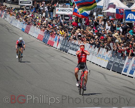 Stage 3 Laguna Seca (Monterey) finish