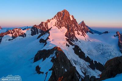 Berner Alpen, Switzerland alpine touring