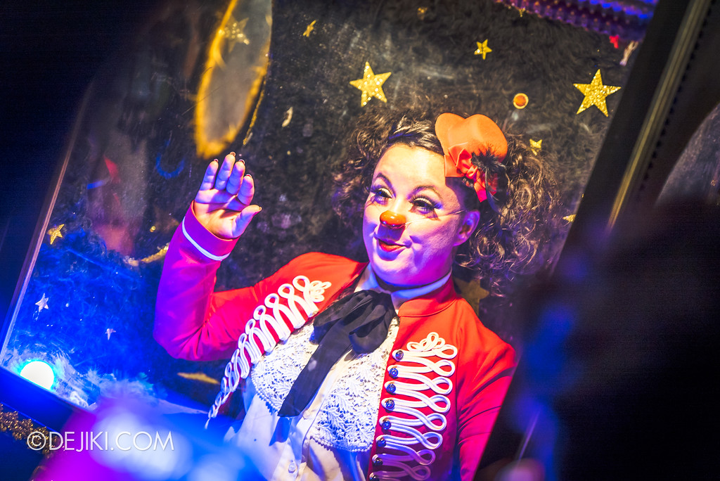 Singapore Night Festival 2018 – Performances / Automatarium (by David Berga) Clown