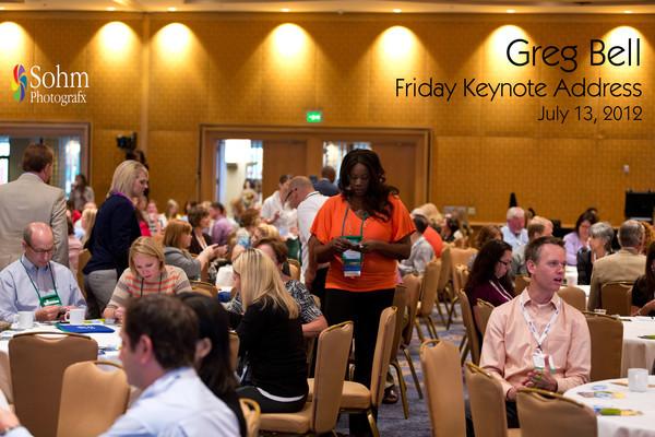 Friday Keynote-Greg Bell